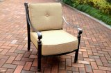Outdoor Club Deep Cushion Chair Cast Aluminum Furniture