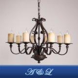 Retro Vintage Style 8-Light Chandelier for Living Room Dining Room