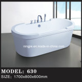 Modern Freestanding Soaking Eillpse Shape Bathtub (630)
