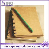 Cheap Hardcover Hot Selling Kraft Paper Notebook