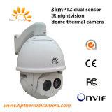 Dual Sensor Dome Thermal Imaging Camera