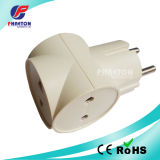 AC Power Plug for 2 Pin Plug to 3pin Jack Adaptor