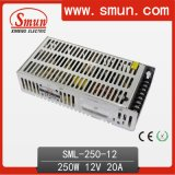 Smun 250W 12VDC 20A Switching Power Supply 2 Years Warranty