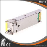 BIDI SFP Optical Transceiver 1000BASE-BX Transceiver Tx 1550nm Rx 1310nm 40km with DDM function