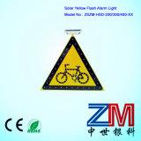 3m Film Solar LED Flashing Traffic Sign / Road Sign