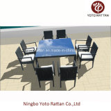 Outdoor Furniture Dining Set for Garden with Aluminum SGS (SD6215D)