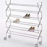 Criss Cross Six Tiers Shoe Rack with CE (G-SR04)