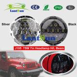 75W 7inch Jeep Wrangler LED Headlight