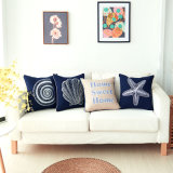 Polyester Canvas Embroidery Home Decoration Throw Pillows Cover for Couch