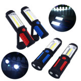 with 360 Degree Rotating Hook Rechargeable Emergency Camping Torch Magnetic 3W COB Work Light