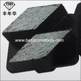 M12 Redi Lock Two Rhombus Diamonds Concrete Grinding Disc