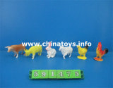 Cheap Good Quality Toys Soft Plastic Animal Set (591475)