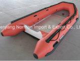 Aluminium Base Inflatable Hull Rescue Boat