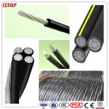 Triplex Overhead ABC Aerial Bundled Cables Urd Wire Underground Cable