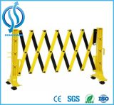Plastic Road Traffic Expandable Barrier Within Wheel