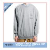 Wholesale Fashion Oversized Men Pullover Sweatshirt with Silk Print