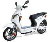 High Quality Electric Moped Scooter with Rear Expanding Brake (ES-008)