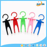 Flexible Cute Human Shape Silicone Cell Phone Holder
