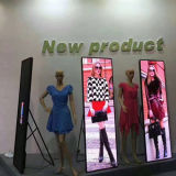 Floor Standing Poster LED Display for Advertising