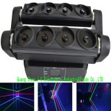 Double 8eyes RGB/Single Green Moving Head Spider Laser Light