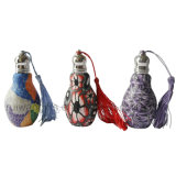 20ml Bowling Clay Perfume Bottle with Tassel, Empty Perfume Bottle