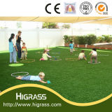 Commercial Artificial Grass with Flat Shape