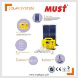 Must Mini Solar Power System Small Home Use 30W Light USB Included
