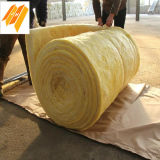 Glass Wool Batts Roll Blanket for Roofing Building Materials