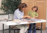 Rectangular Plastic Home Dining Folding Table