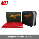 High Quality Colorful Adult Stock and Custom Autograph Book with Golden Stamping for School