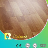 Household 8.3mm E1 Embossed Walnut Waxed Edge Laminated Flooring