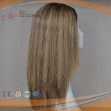 Full Blonde Hair Silk Top Hair Piece