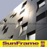 Aluminium Extraodinary Facade with Aluminium Composite Panel