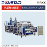 Double Layers Stretch Film Machine for PE Cling