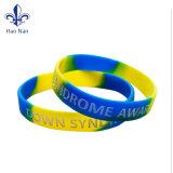 Silicone Material Silkscreen Printing Wristband