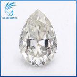 12X8mm 3.0 Carats Gh Color Pear Shape Brilliant Cut Moissanite Diamond