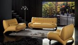 Hotel High Quality Genuine Leather Sofa Sets Commercial Sofas (L060)
