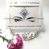 Hongkong Topaz Professional Skin Safe Party Eye Stickers White Studs Body Jewels Face Tatto Stickers (FS01)