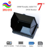 Factory on Sale 7000mAh Li-Battery Powered 7 Inch LCD Ahd Car Rearview Security DVR Monitor