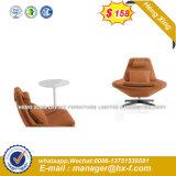 Round Metal Base Wooden Back Bar Chair Modern Furniture (HX-SN8064)
