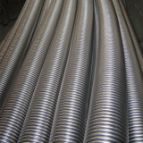 High Quality Corrugated Flexible Mtal Hose/Pipe with Flange