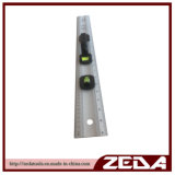 Hot Sell Aluminum Ruler with 2 Vials and PVC Handle 152