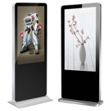 32-84 Inch Touch Screen Flood Stand Digital Signage LCD for Exhibition Backing Airport