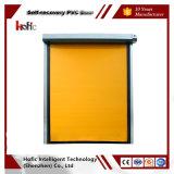 New Style PVC Rapid Rolling Zipper Recovery High Speed Industrial Door