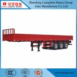 2 Funcations 3axles Side Wall Semi Trailer for Container and Cargo