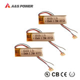 UL Rechargeable 401030 3.7V 80mAh Lithium Polymer Battery Pack