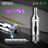 No Leakage Oil Glass Atomizer Seego G-Hit K3 Original Design Rda Atomizer E Pipe for Smoking