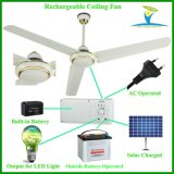 "56"" 230V Input AC DC Ceiling Fan with Built in Battery BLDC Motor"