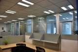 Aluminum Demountable Glass Wall for Office and Meeting Room
