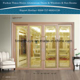 Aluminium Interior Doors Exterior Doors with Thermal Brake Functions